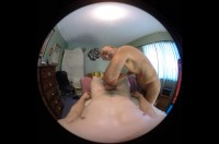 VR Porn Daddy Russ Gives You a POV Erotic Penile Massage with Daddy Russ, Drake Shadows