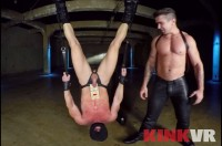 VR Porn Trenton Ducati Punishes a Leather Bound God with Trenton Ducati , Mitch Vaughn