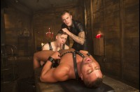 VR Porn Christian Wilde's Leather Dungeon POV with Christian Wilde, Tyler Rush, Micah Brandt